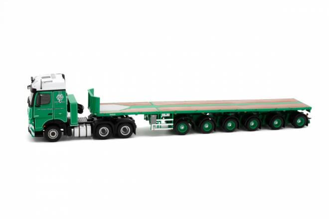 Actros BigsSpace 6x4 with Nooteboom 6-axle Ballasttrailer