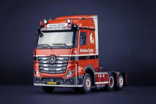 Benz Actros Streamspace 6x2