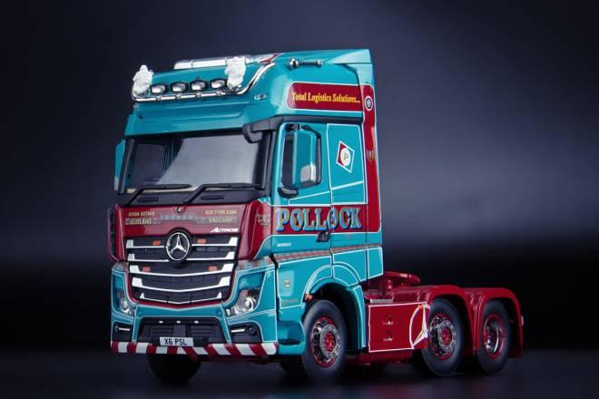 Benz Arocs Gigaspace 6x2