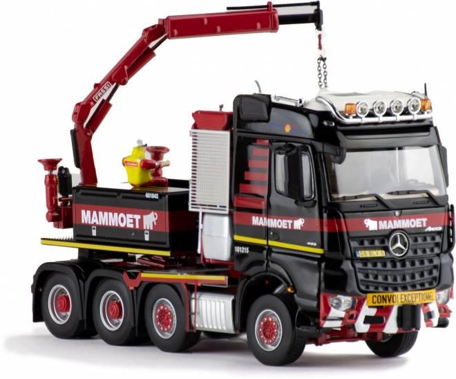 Benz AROCS 8X4 + BALLASTBOX + FASSI CRANE