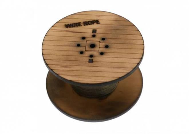 Holz-Kabeltrommen 7 cm
