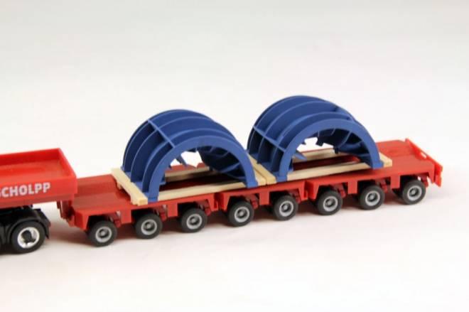 für große Industriemischer 2 Stück auf Holzlagerbalken