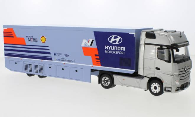 Actros MP4, Hyundai Motorsport, WRC Transport, 2019
