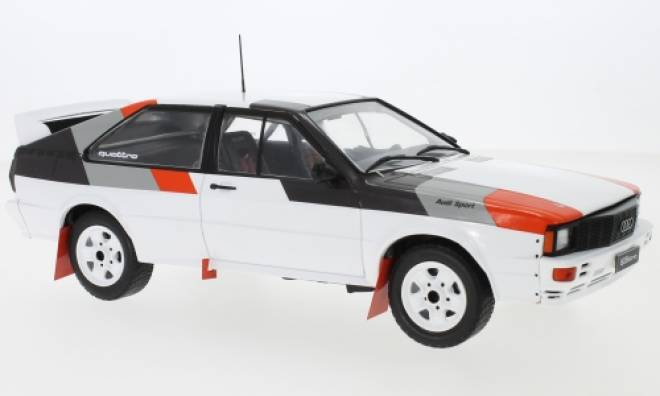 quattro , weiss/Dekor, Rally Spec, 1982