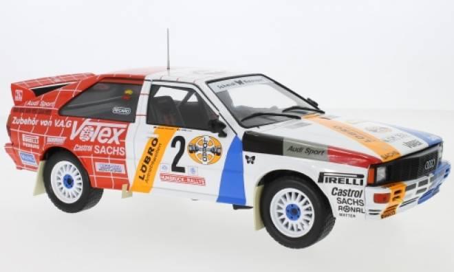 quattro, No.2, Schmidt Motorsport, Rallye DM, Rally Hunsrück, H.Demuth/W.Lux, 1984