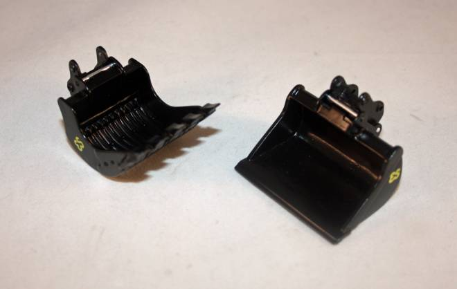 Skeleton  and Ditch Cleaning Bucket Set 50T in schwarz