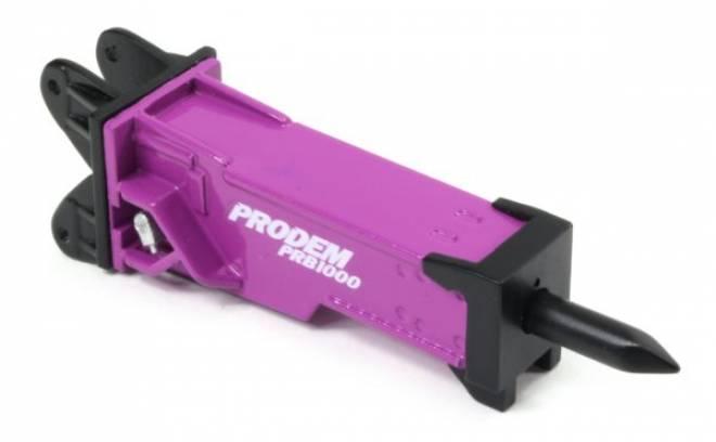 Prodem PRB1000 Hydraulic Hammer  Liebherr 9100 mount