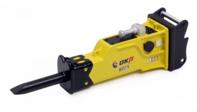 OKB 2500 Hydraulic Hammer Quick Coupler Mount