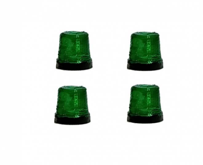 Packung mit 4 x  grünem Rundumlicht