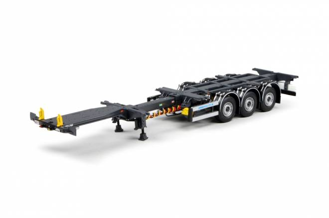 Flexitrailer chassis