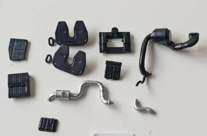 Volvo FH04 dieverse  Teile