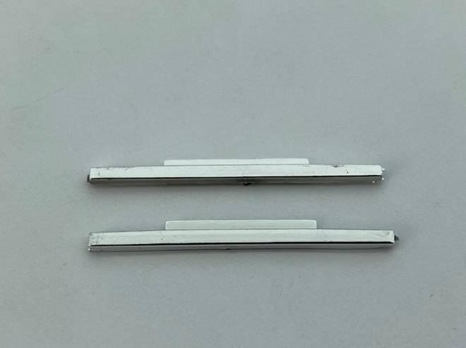 Seitenleiste Rechteck Set Chome lang 6x2 / 6x4