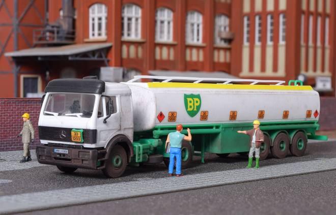 2-achs Zugmaschine BP