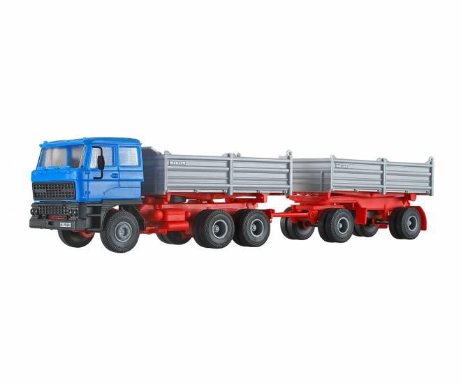 3achs Zugmaschine mit 2achs Anhänger