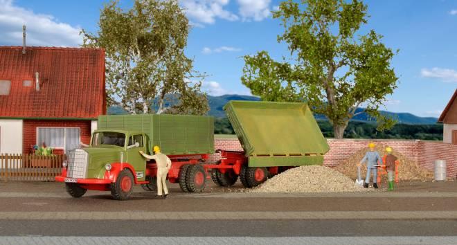 6600 mit Anhänger, Baujahre 1950 - 1954