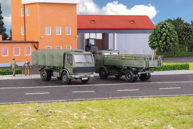 Bundeswehr LKW 1017/1017A  2 Stück