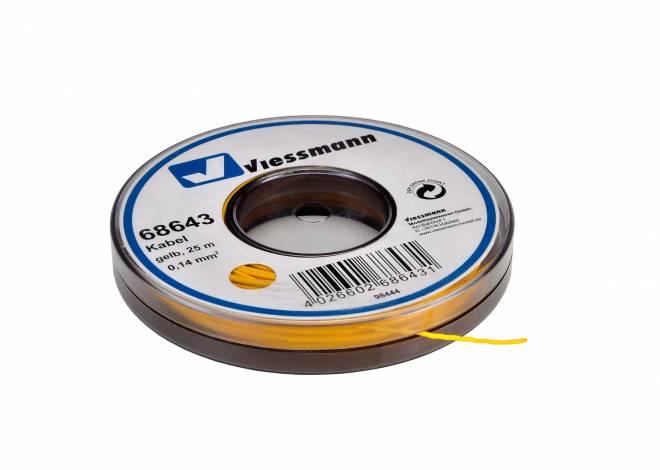 auf Abrollspule 0,14 mm², gelb, 25 m