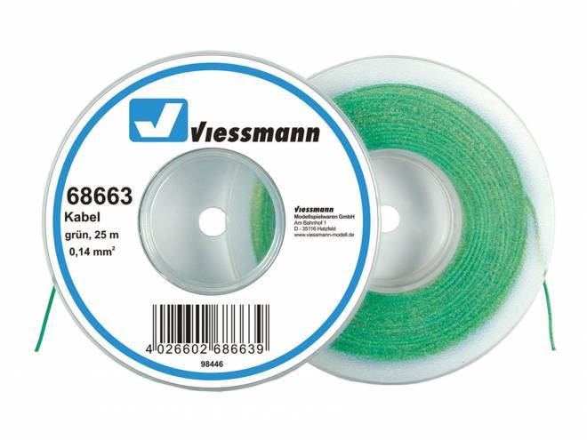 auf Abrollspule 0,14 mm², grün, 25 m