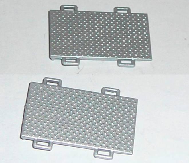 2 tragbare Auffahr-
