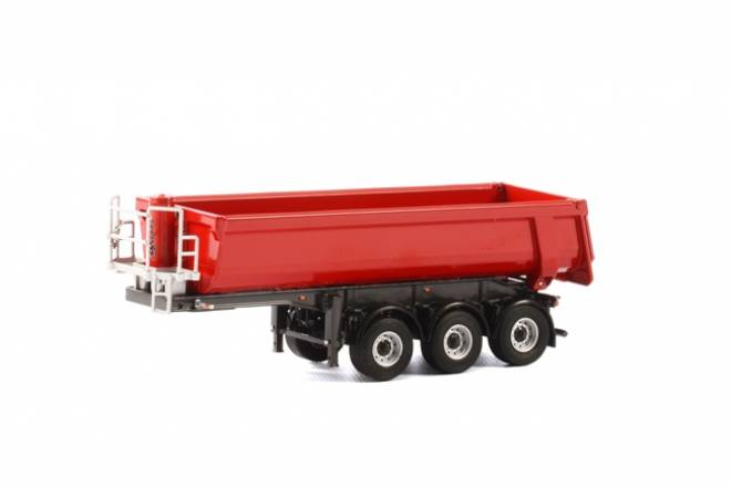 Halfpipe Tipper Trailer