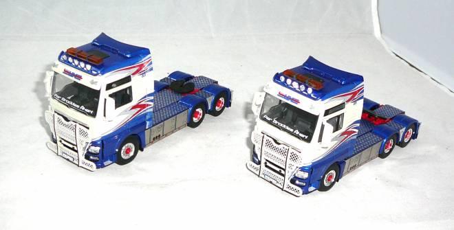 TGX XXL   2 Modelle im Set zum Preis von Einem