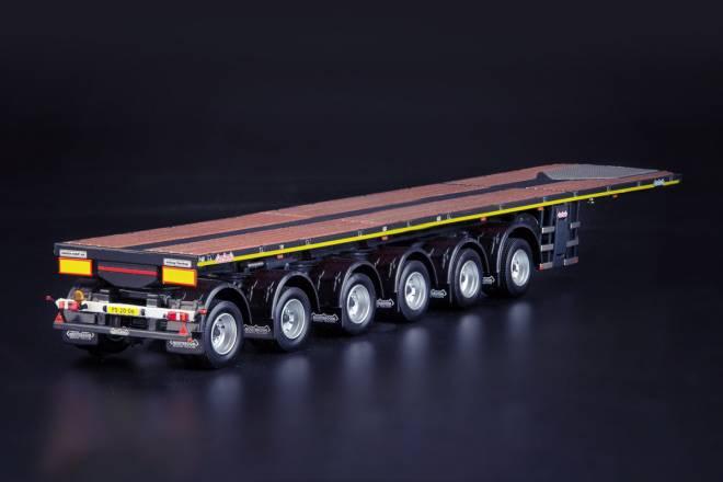 OVB Ballasttrailer mit  10ft Container