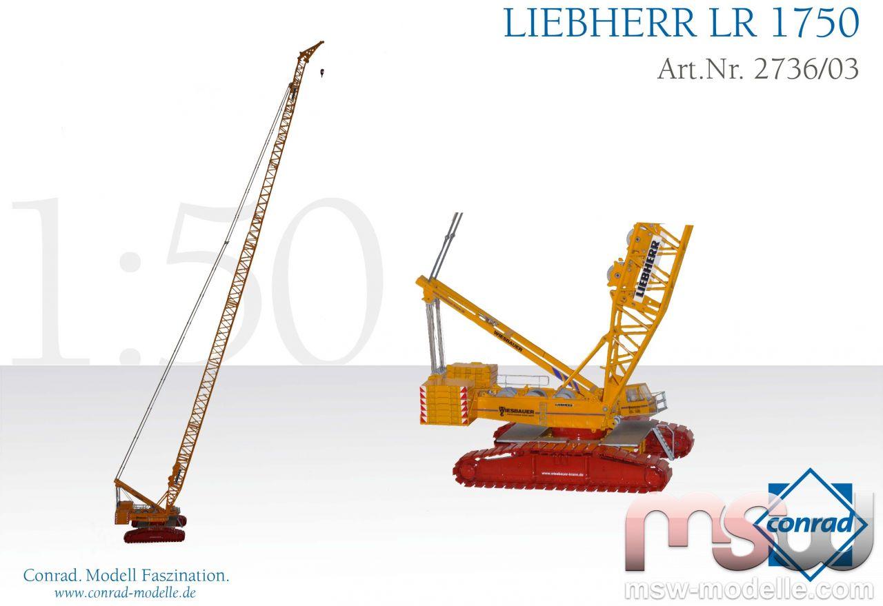 Liebherr LR 1750-1 by Conrad