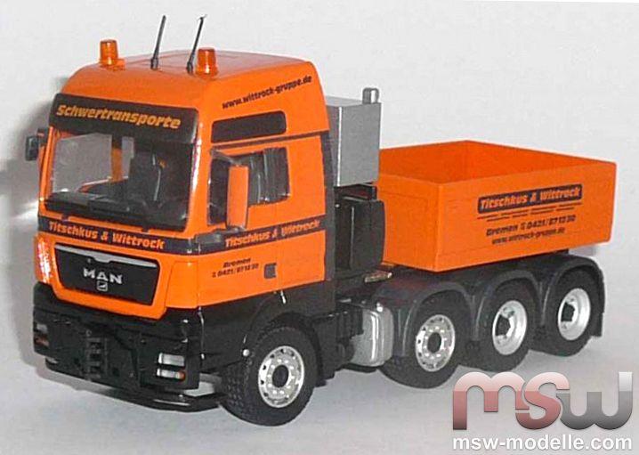 MAN Prime Mover 4-axle 1:50 - TGX XXL SLT Titschkus & Wittrock
