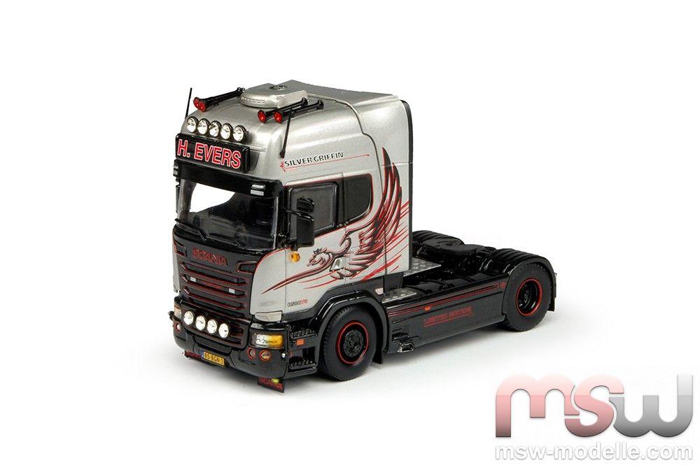 Tekno 69732 1:50 Scania R-serie Topline 4x2 evers H