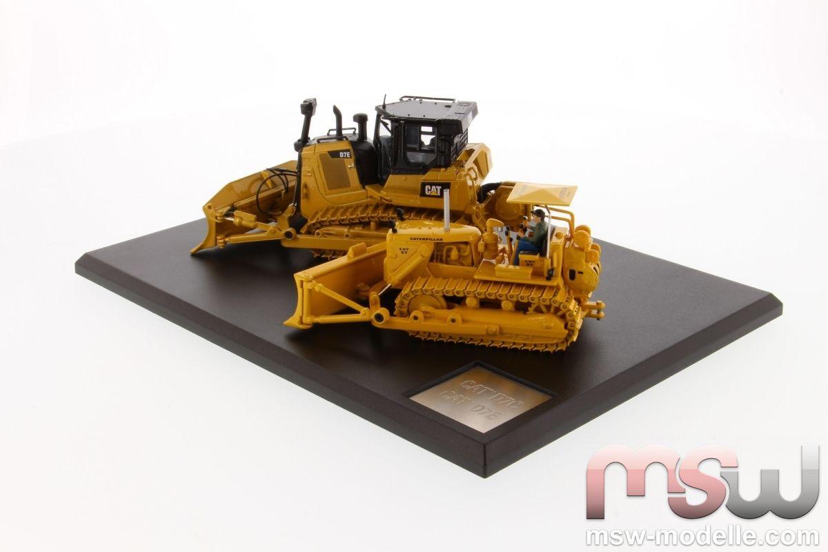 Cat Caterpillar 1:50 - D7C & Cat D7E Diecast Masters 85561